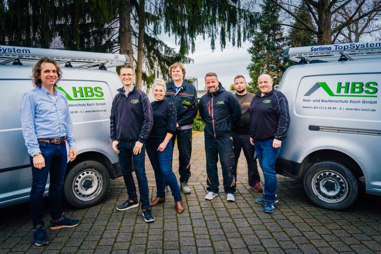 Mitarbeiter der HBS Koch GmbH